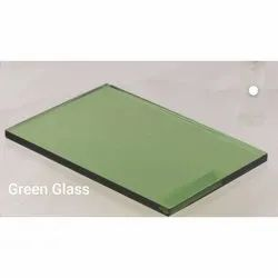 Green Toughened Glass, Thickness: 5 Mm