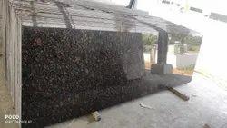 Polished Tan Brown Granite Slab, Flooring, Thickness: 18 mm
