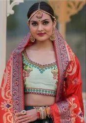 Peafowl Vol-59 Banarasi Silk Party Wear Lehenga Choli Catalog