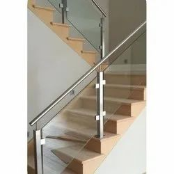 Stairs Stainless Steel Glass Stair Railing