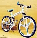 Being Human White Foldable Cycle
