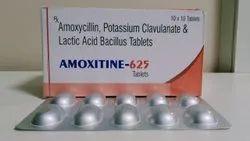 Amoxycillin Potassium Clavulanate & Lactic Acid Bacillus Tablet