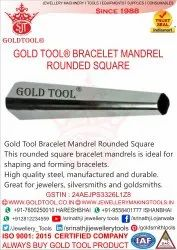 Gold Tool Bracelet Mandrel