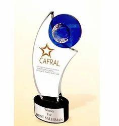 CG 409 Crystal Trophy