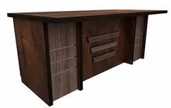 Durafur Office Executive Table With Multi Storage Space Size 6 X 3 Feets