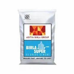 Birla Super 53 Grade Cement, Packaging Size: 50 Kg
