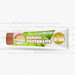 Banana Toothpaste, Packaging Type: Tube