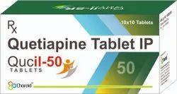 Quetiapine 50 Mg Tablets (Qucil 50)