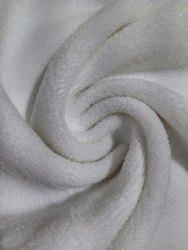 Net/Mesh White Bamboo Polyester Terry, GSM: 150-200 GSM, Packaging Size: Loose