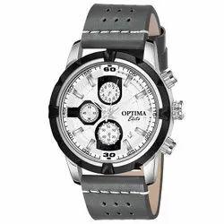 Latest optima Chronograph Design Analog Watch - for Men (grey)