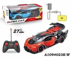 6v And 27 Mhz(remote) Red and Black Kids Remote Control Car