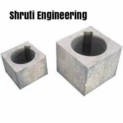 Shruti Drilling Square Hub, Grade: N8