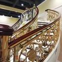 Continues Brass Railing