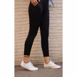 Cotton Casual Wear Chex Pant, Waist Size: Free Size