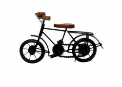 Brown Latest Wooden & Iron Cycle Toy For Kids Decorate Your Home & ofice, Don't Wash