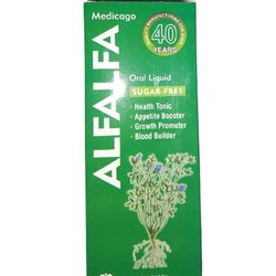 Alfalfa Oral Liquid, Packaging Size: 200ml