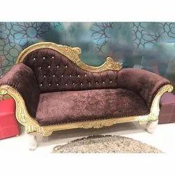 Designer Wedding Chaise Lounge Sofa