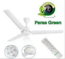 Paras Green White PG AC Remote Control BLDC Ceiling Fan, Sweep Size: 1400mm, Fan Speed: 375 Rpm