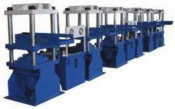Four Pillar Rubber Moulding Press