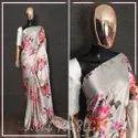 Fancy Floral Print Indian Wear Saree