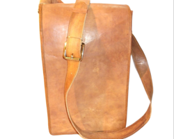 Genuine Leather Handmade Messenger Bag