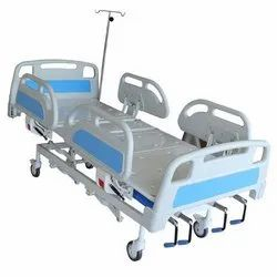 ICU Bed With ABS Bows & ABS Side Railings