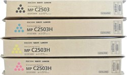 Ricoh MP C2503 Toner Cartridge Set