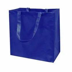 Hubroot Blue Non Woven Big Shopping Bag, Capacity: 10 Kg