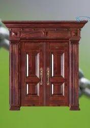 Metal Gway Copper Door, For Residential, Size: 2100*13800