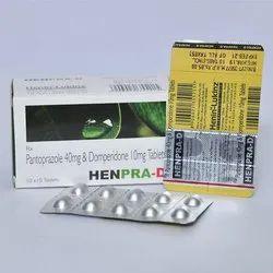 Pantoprazole 40mg And Domperidone 10mg Tablets