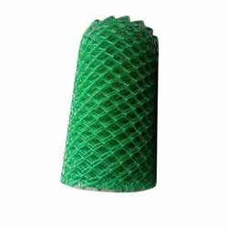 Iron PVC Coated Chain Link Mesh Fence, For Fencing