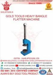 Gold Tool Heavy Bangle Flatter Machine