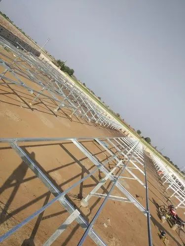 Solar Panel Mounting Structure from Hot dip galvanized steel