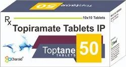 Topiramate 50 Mg Tablets (Toptane 50)