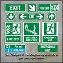 Glow in dark Exit Signage