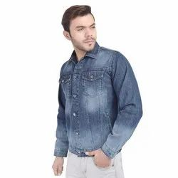 Full Sleeve Demin Mens Denim Jacket