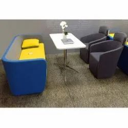 Cafeteria Chair Table Set, Seating Capacity: 4 Seater