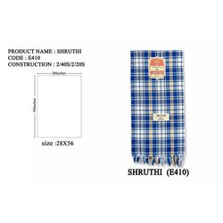 Shruthi Cotton Check Towel