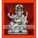 Hindu Marble Ganesh Statues