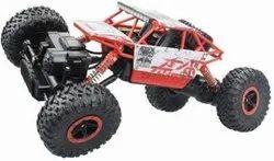 Platic Multicolor Rock Crawler Remote Toy Car