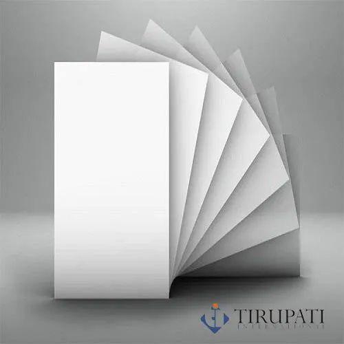 170 GSM Rectangular White Art Card Paper