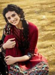 Tanishk Fashion Gulfam Pashmina Digital Print Winter Suits Catalog