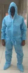 Non Laminated Blue PPE Kit