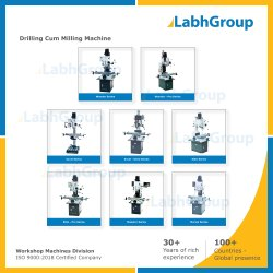 Drilling Cum Milling Machine For Engineering Workshop