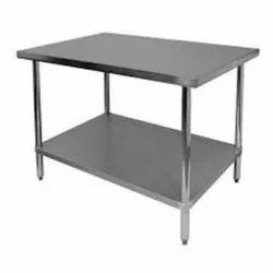 MEC Stainless Steel Work Table With One Undershelf, Ss, Size: 1200 X 600 X 850 Mm