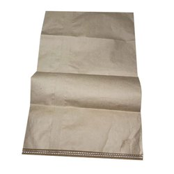 Brown Paper Laminated HDPE Bag