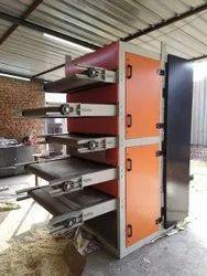 Multi layer dryer conveyor