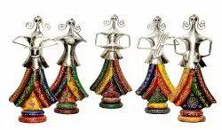 Iron Craft Musical Doll Set Decorative Showpiece