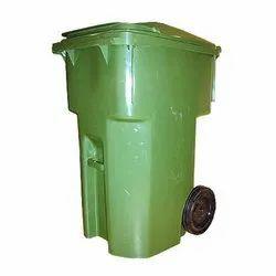 HDPE Portable Garbage Bin