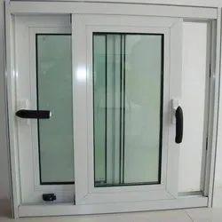 Aluminium White Aluminum Bombay Sliding Door